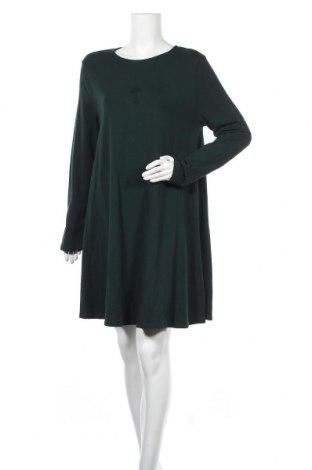Рокля Even&Odd, Размер XXL, Цвят Зелен, 95% памук, 5% еластан, Цена 42,00лв.
