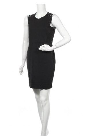 Рокля H&M, Размер M, Цвят Черен, 78% памук, 22% полиамид, Цена 6,28лв.