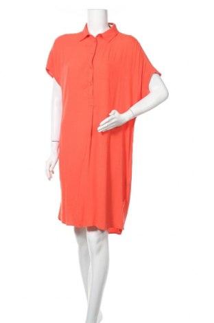 Рокля H&M L.O.G.G., Размер S, Цвят Оранжев, Вискоза, Цена 14,49лв.