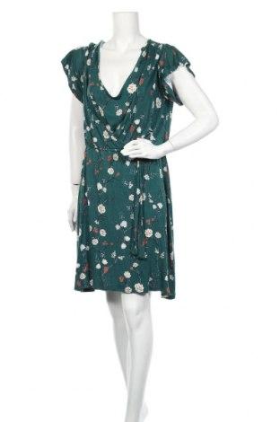 Рокля H&M Mama, Размер XL, Цвят Зелен, Вискоза, Цена 24,57лв.