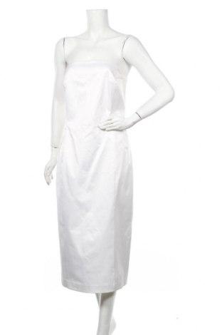 Рокля Isaac Mizrahi, Размер L, Цвят Бял, 53% памук, 44% полиестер, 3% еластан, Цена 18,11лв.