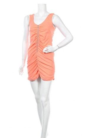 Φόρεμα Just Female, Μέγεθος M, Χρώμα Πορτοκαλί, 92% βαμβάκι, 8% ελαστάνη, Τιμή 7,14€