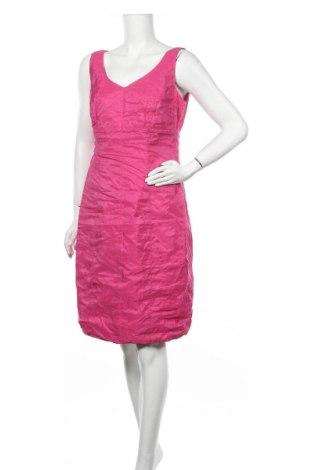 Рокля Marc Aurel, Размер L, Цвят Розов, 73% ацетат, 19% полиестер, 8% метални нишки, Цена 55,86лв.