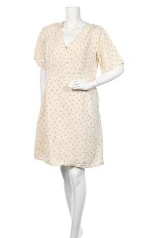 Φόρεμα Noa Noa, Μέγεθος L, Χρώμα  Μπέζ, 55% λινό, 45% βισκόζη, Τιμή 29,10€