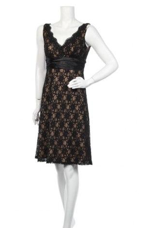Рокля S.l. Fashions, Размер M, Цвят Черен, 55% полиамид, 45% памук, Цена 22,05лв.