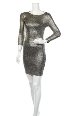 Φόρεμα Topshop, Μέγεθος S, Χρώμα Χρυσαφί, 92% πολυαμίδη, 5% ελαστάνη, 3% μεταλλικά νήματα, Τιμή 19,29€