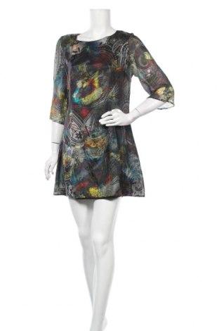 Φόρεμα Topshop, Μέγεθος L, Χρώμα Πολύχρωμο, Μετάξι, Τιμή 25,33€