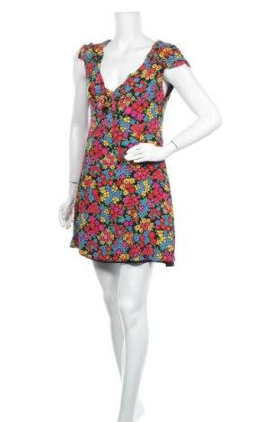 Рокля Zara Trafaluc, Размер L, Цвят Многоцветен, 100% полиестер, Цена 13,70лв.