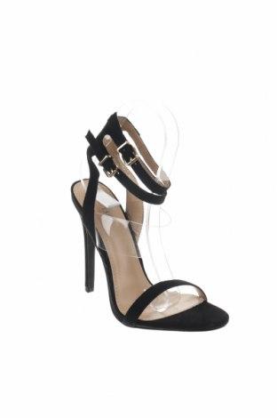 Σανδάλια Bebo, Μέγεθος 37, Χρώμα Μαύρο, Κλωστοϋφαντουργικά προϊόντα, πολυουρεθάνης, Τιμή 25,65€