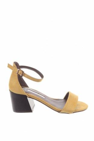 Sandály Dorothy Perkins, Velikost 37, Barva Žlutá, Textile , Cena  609,00Kč