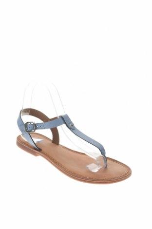 Σανδάλια Gioseppo, Μέγεθος 38, Χρώμα Μπλέ, Γνήσιο δέρμα, Τιμή 22,95€