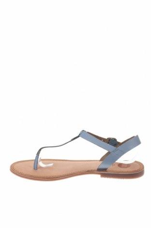 Σανδάλια Gioseppo, Μέγεθος 40, Χρώμα Μπλέ, Γνήσιο δέρμα, Τιμή 22,95€