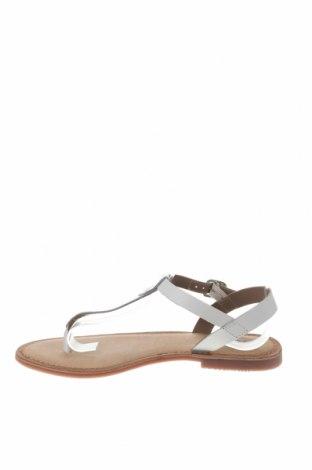 Σανδάλια Gioseppo, Μέγεθος 39, Χρώμα Λευκό, Γνήσιο δέρμα, Τιμή 22,95€