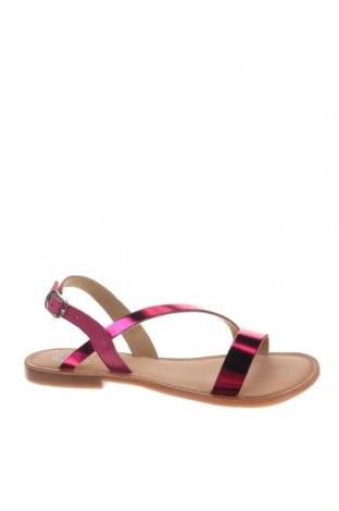 Сандали Gioseppo, Размер 37, Цвят Розов, Естествена кожа, естествен велур, Цена 31,92лв.