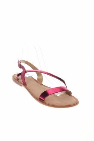 Σανδάλια Gioseppo, Μέγεθος 41, Χρώμα Ρόζ , Γνήσιο δέρμα, φυσικό σουέτ, Τιμή 21,65€