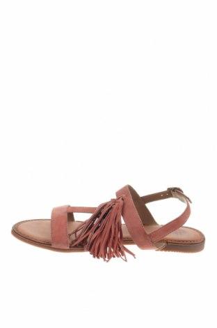 Сандали Gioseppo, Размер 41, Цвят Розов, Естествен велур, Цена 36,12лв.