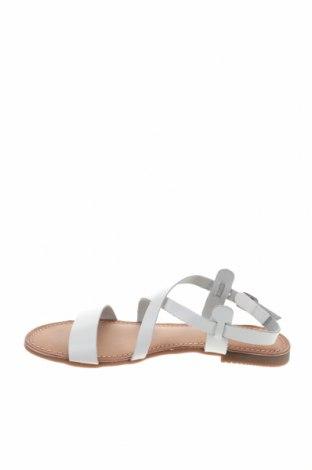 Σανδάλια Gioseppo, Μέγεθος 39, Χρώμα Λευκό, Γνήσιο δέρμα, Τιμή 21,65€