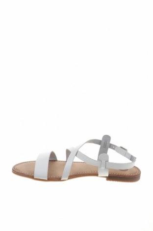 Σανδάλια Gioseppo, Μέγεθος 40, Χρώμα Λευκό, Γνήσιο δέρμα, Τιμή 23,82€