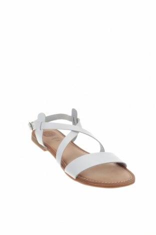 Σανδάλια Gioseppo, Μέγεθος 36, Χρώμα Λευκό, Γνήσιο δέρμα, Τιμή 21,65€