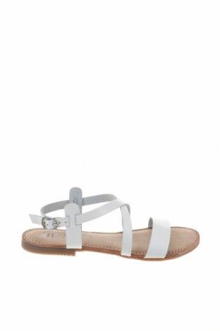 Σανδάλια Gioseppo, Μέγεθος 37, Χρώμα Λευκό, Γνήσιο δέρμα, Τιμή 23,82€