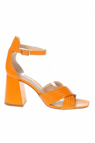 Сандали Kiomi, Размер 41, Цвят Оранжев, Естествена кожа, Цена 44,50лв.