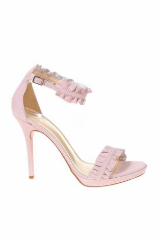 Sandály MPS, Velikost 41, Barva Růžová, Přírodní velur , Cena  682,00Kč