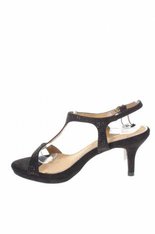 Σανδάλια Maria Mare, Μέγεθος 37, Χρώμα Μαύρο, Κλωστοϋφαντουργικά προϊόντα, Τιμή 18,25€