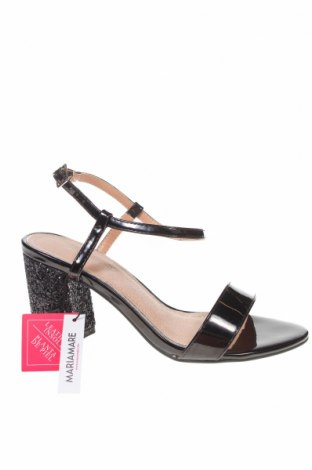 Sandály Maria Mare, Velikost 37, Barva Černá, Eko kůže, Cena  595,00Kč