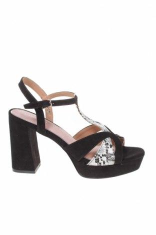 Sandály Maria Mare, Velikost 39, Barva Černá, Textile , Eko kůže, Cena  800,00Kč