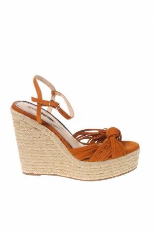 Sandály Miss Selfridge, Velikost 38, Barva Hnědá, Textile , Cena  890,00Kč