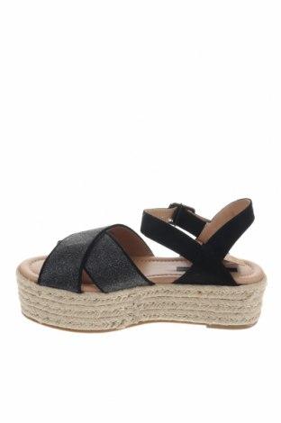 Σανδάλια Mtng, Μέγεθος 37, Χρώμα Μαύρο, Κλωστοϋφαντουργικά προϊόντα, Τιμή 17,64€