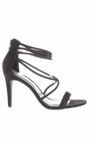 Сандали New Look, Размер 40, Цвят Черен, Текстил, Цена 26,55лв.