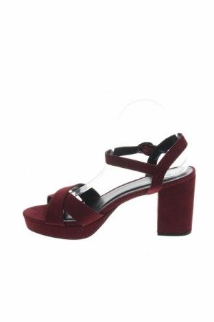 Σανδάλια New Look, Μέγεθος 41, Χρώμα Κόκκινο, Κλωστοϋφαντουργικά προϊόντα, Τιμή 17,64€