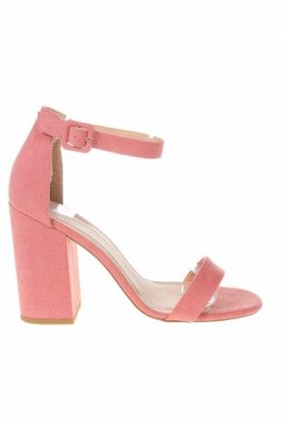 Σανδάλια New Look, Μέγεθος 40, Χρώμα Ρόζ , Κλωστοϋφαντουργικά προϊόντα, Τιμή 18,25€