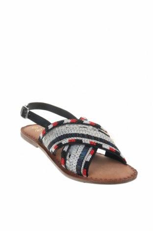 Сандали Nicewalk, Размер 38, Цвят Многоцветен, Текстил, еко кожа, Цена 20,09лв.
