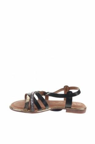 Сандали Nicewalk, Размер 36, Цвят Черен, Еко кожа, Цена 20,09лв.