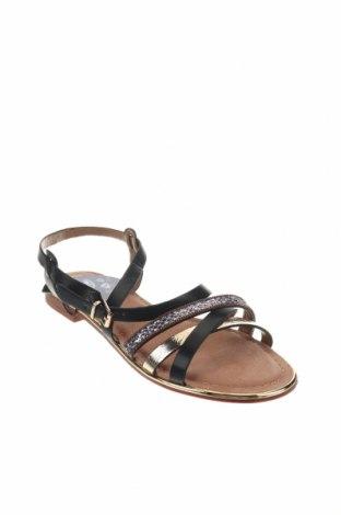 Сандали Nicewalk, Размер 39, Цвят Черен, Еко кожа, Цена 20,09лв.