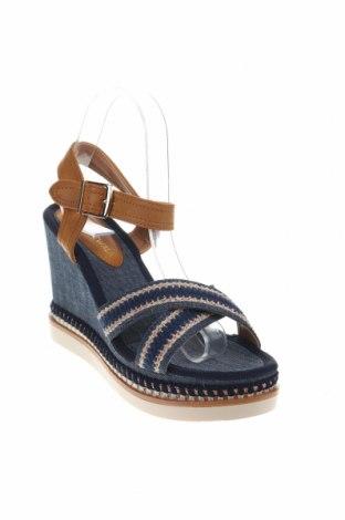 Σανδάλια Nicewalk, Μέγεθος 39, Χρώμα Μπλέ, Κλωστοϋφαντουργικά προϊόντα, δερματίνη, Τιμή 14,74€