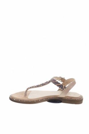 Σανδάλια Nicewalk, Μέγεθος 36, Χρώμα  Μπέζ, Δερματίνη, Τιμή 12,63€