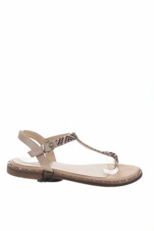 Σανδάλια Nicewalk, Μέγεθος 41, Χρώμα  Μπέζ, Δερματίνη, Τιμή 12,63€