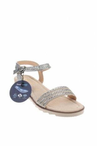 Σανδάλια Nicewalk, Μέγεθος 40, Χρώμα  Μπέζ, Δερματίνη, κλωστοϋφαντουργικά προϊόντα, Τιμή 13,89€