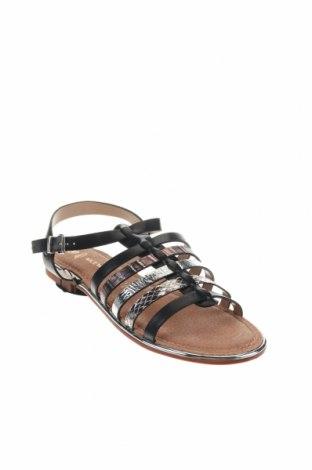 Σανδάλια Nicewalk, Μέγεθος 38, Χρώμα Μαύρο, Δερματίνη, Τιμή 13,39€