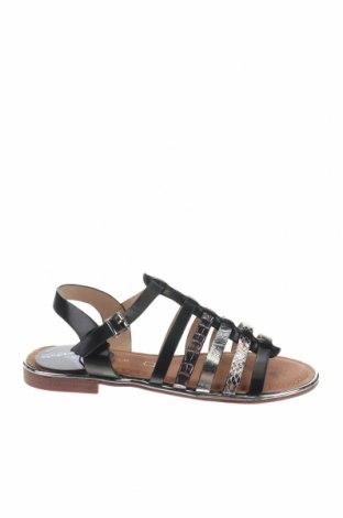 Сандали Nicewalk, Размер 37, Цвят Черен, Еко кожа, Цена 22,05лв.