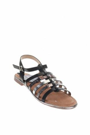 Сандали Nicewalk, Размер 40, Цвят Черен, Еко кожа, Цена 22,05лв.