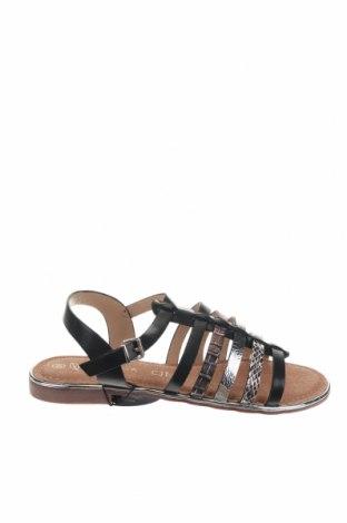 Σανδάλια Nicewalk, Μέγεθος 39, Χρώμα Μαύρο, Δερματίνη, Τιμή 13,39€