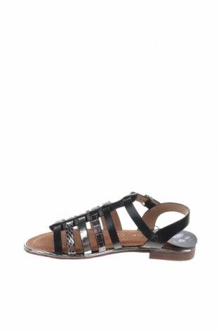 Сандали Nicewalk, Размер 36, Цвят Черен, Еко кожа, Цена 22,05лв.