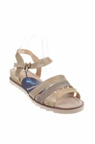 Σανδάλια Nicewalk, Μέγεθος 40, Χρώμα  Μπέζ, Δερματίνη, Τιμή 14,65€
