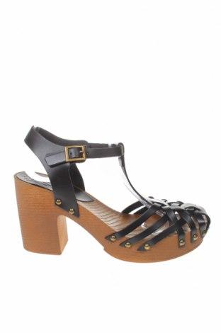 Σανδάλια Porronet, Μέγεθος 38, Χρώμα Μαύρο, Γνήσιο δέρμα, Τιμή 25,23€