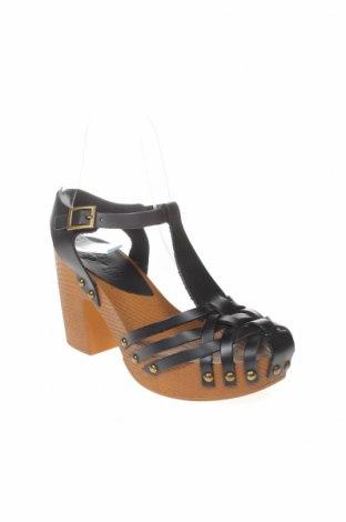 Σανδάλια Porronet, Μέγεθος 36, Χρώμα Μαύρο, Γνήσιο δέρμα, Τιμή 25,23€