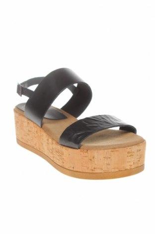 Σανδάλια Porronet, Μέγεθος 38, Χρώμα Μαύρο, Γνήσιο δέρμα, Τιμή 35,58€